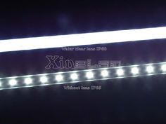 LED linear supermarket rigid led light bar Ultra thin 1000x17x7mm