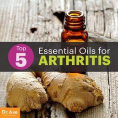 Top 5 Essential Oils for Arthritis - Dr. Axe