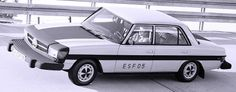 http://chicerman.com  carsthatnevermadeit:  Mercedes Benz ESF 05 1971. A safety car which previewed the W123 series  #cars