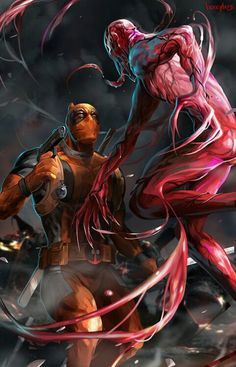 Deadpool and carnage
