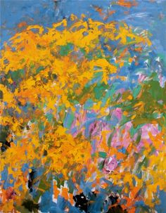 JOAN MITCHELL, 'La Grande Vallee 0',1983, oil on canvas, 102 x 78 3/4 in, Private Collection