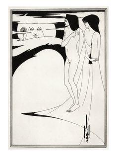 Salomè illustration - Aubrey Breadsley for Oscar Wilde