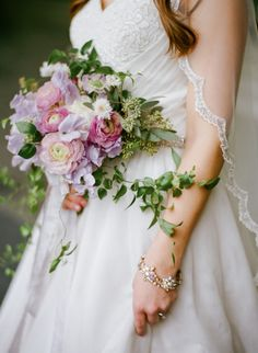 Heavenly bouquet: http://www.stylemepretty.com/little-black-book-blog/2015/04/07/romantic-violet-hour-bridal-inspiration/ | Photography: Studio Elle - http://studioellephotos.com/