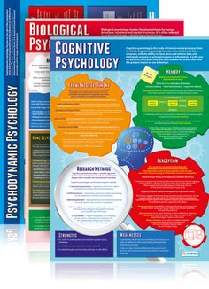 Daydream Education's Cognitive Psychology Poster is a great learning and teaching tool. The engaging and attention grabbing psychology poster is guaranteed to improve understanding and help brighten up your school hallways and classrooms. Psychology Revision, Psychology Posters, Psychology A Level, Psychology Questions, Psychology Resources, Behavioral Psychology, Psychology Studies, Cognitive Psychology, Forensic Psychology