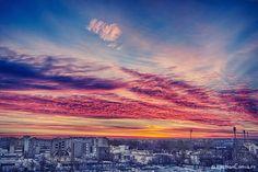 Un frumos rasarit de ianuarie! Bucharest, Romania, Clouds, Photography, Travel, Outdoor, Inspiration, Outdoors, Biblical Inspiration