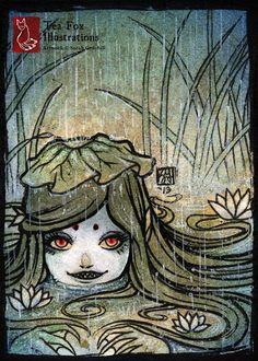 When it Rains... [ACEO] by TeaKitsune.deviantart.com on @DeviantArt