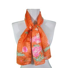 vintage Vera Neumann Vera Sheer oblong scarf by FrouFrouFrox, $28.00