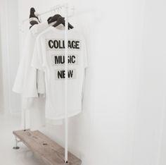 diy coat rack by Kenziepoo on Instagram
