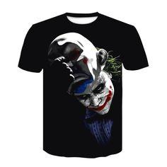 Moda 3d, Manga, Mens Tops, T Shirt, Fashion, Joker Face, Price List, Funny T Shirts, Clowns