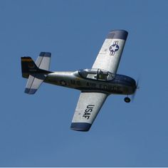 Parkzone T-28.  My first RC airplane.  I think foam planes are the best for beginners.  You can crash them, glue them back together and go flying again.