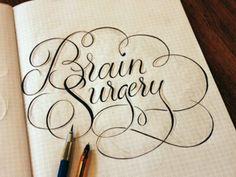 brain surgery..