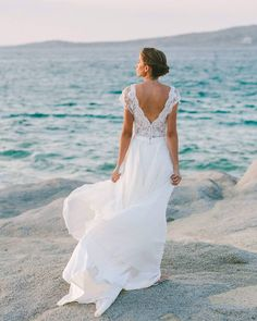 Every precious moment of this Greek island wedding is beautiful. With the breathtaking backdrop of the gorgeous Greek island of Naxos and lovely rustic Greece Photography, Wedding Photography, Autumn Wedding, Summer Wedding, Best Wedding Blogs, Wedding Ideas, Bridal Gowns, Wedding Gowns, Greek Wedding