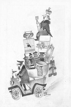 Illustratie Fiep Westendorp - Copyright Fiep Amsterdam BV, Fiep Westendorp Illustrations