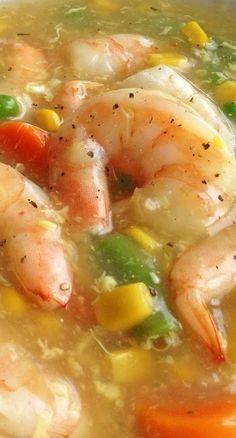 Shrimp In Lobster Sauce - Favorite Recipes - Sauce recipes Lobster Recipes, Shrimp Recipes, Sauce Recipes, Fish Recipes, Asian Recipes, Cooking Recipes, Asian Foods, Chinese Recipes, Bread Recipes