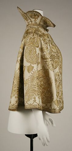 Evening cape (image 2) | probably French | 1900 | wool, silk | Metropolitan Museum of Art | Accession #: 1976.318.16