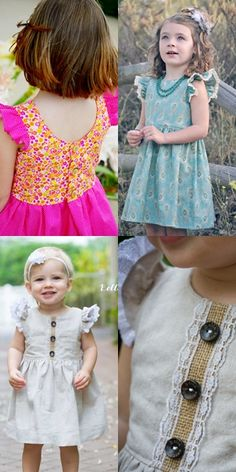 11 Gorgeous and Easy Dress Patterns for Girls That They Will Absolutely LOVE | Dress patterns for girls | dress to sew | how to sew a dress for girls