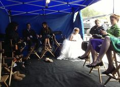 Greys Anatomy Set, Grey's Anatomy, Laura Ingalls Wilder, Photo Credit, Behind The Scenes, Real Life, Tent, Tv Shows, It Cast