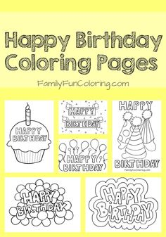 The 117 Best Happy Birthday Fun Images On Pinterest Happy