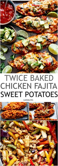 sweet potatoes are baked, then baked again!