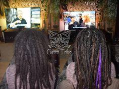 Dreadpflege XXL,  Aus 33 Dreads 45 gemacht Dreadlocks, Berlin, Hair Styles, Beauty, Hair Plait Styles, Hair Makeup, Hairdos, Haircut Styles, Dreads