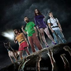 Scooby doo and team post zombie apocalypse