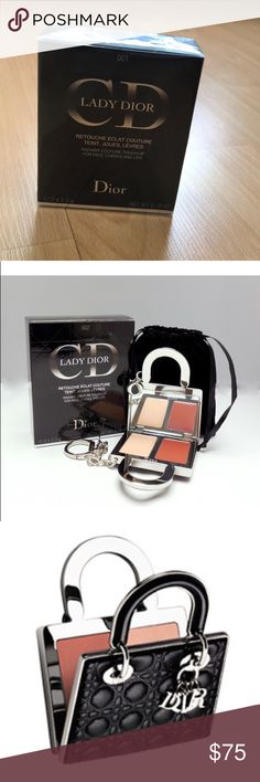 RADIANT COUTURE TOUCH UP FOR FACE ,CHEEKS & LIPS COMPLEXION HIGHLIGHTER - NEW - SEALED LADY DIOR - RADIANT COUTURE TOUCH -UP FOR FACE , CHEEKS AND LIPS 2 X 2.3g Dior Makeup Luminizer