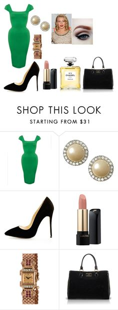 """This would be the perfect dress to show off your curves"" by chanel-xoxo123 on Polyvore featuring STELLA McCARTNEY, Banana Republic, Lancôme, Lulu Guinness, Chanel and vintage"