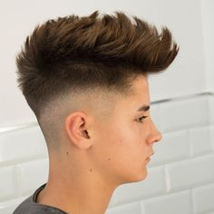 Top 11 Most Wanted Boys and Men Hairstyles 2019 to Look Cool and . Trending Hairstyles For Men, Teen Boy Hairstyles, Mens Hairstyles Fade, Popular Mens Hairstyles, Hairstyles Haircuts, Haircuts For Men, Cool Hairstyles For Boys, Medium Hair Styles, Short Hair Styles