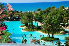 Panoramica piscina centrale