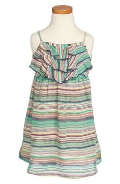 Roxy 'Check Me Out' Dress (Little Girls & Big Girls) available at #Nordstrom