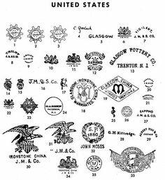 Pottery & Porcelain Marks - United States - Pg. 13 of 41