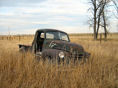 Rusty Old Truck - 1950 Chevrolet by dave_7, via Flickr