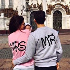 P.S. I Love You More Boutique | Mr. and Mrs. Sweaters | |- Spring Summer Fall Winter Fashion www.psiloveyoumoreboutique.com