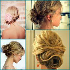 Cabelos, cortes e penteados: Penteados para madrinhas