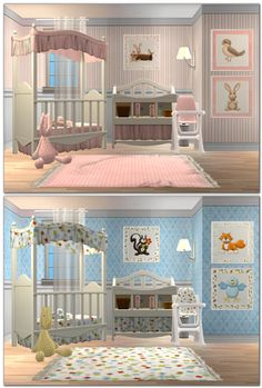 Sugar Coated Hell, October Fest Day 17! Complete nursery sets for...