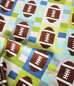 Touchdown Pattern, Cluck Cluck Sew. This is so, so fun- perfect for the football-loving little guy!!!