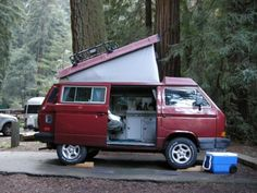 I think we will just give up on the house search and buy this.. Who needs a house!!  1989 VW Vanagon Westfalia Camper