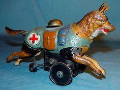 Mechanical Rescue Dog