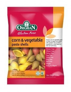 Orgran is a proud manufacturer of over 80 'Free From' products. See our range, offering a wide variety of products, from pasta, bread mixes, cake mixes Corn Vegetable, Pasta Art, Organic Pasta, Bread Mix, Snack Recipes, Snacks, Gluten Free Pasta, Stuffed Pasta Shells, Pasta Noodles