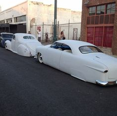Cool in white Rat Rods, My Dream Car, Dream Cars, Classic Trucks, Classic Cars, Vintage Cars, Antique Cars, Old Dodge Trucks, Truck Paint