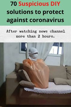 As the world starts to run low on protective masks, people are scrambling for different ways to prevent contracting Coronavirus when out in public.