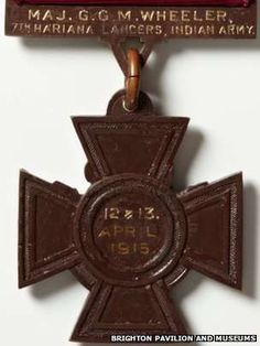 A Victoria Cross awarded posthumously to a British Army major killed in World War One has been found during a search at a Brighton museum.