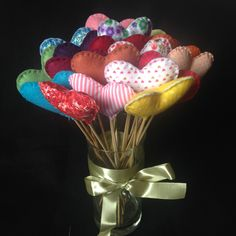 Bouquet de corações