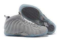 "http://www.jordanse.com/2015-nike-air-foamposite-one-prm-grey-suede-wolf-greywhite-for-sale-online.html 2015 NIKE AIR FOAMPOSITE ONE PRM ""GREY SUEDE"" WOLF GREY-WHITE FOR SALE ONLINE Only 97.00€ , Free Shipping!"