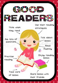 Good readers... | Top Teacher - Innovative and creative early childhood curriculum resources for your classroom