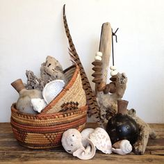 Baskets and shells