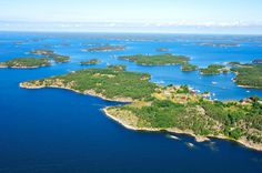 Nauvo, an island commune in the Finnish Archipelago Saaristomeri.