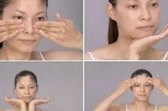 Milagrosa massagem facial japonesa que fará você se sentir 10 anos mais jovem…