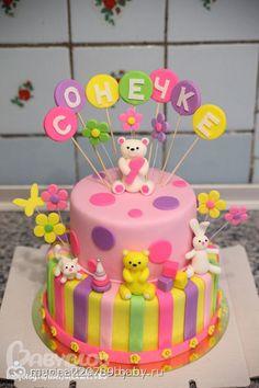 Торт для девочки 2 года