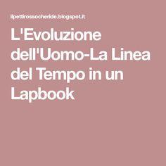 L'Evoluzione dell'Uomo-La Linea del Tempo in un Lapbook